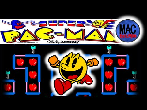 How To Play Super Pacman - PAC-MAN 35th Anniversary Plug And Play