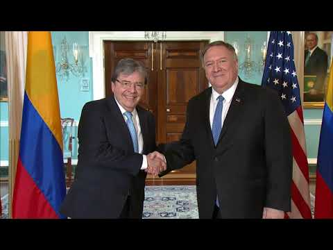 U.S. Department of State: Secretary Pompeo meets with Colombian FM Trujillo