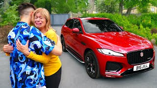 Surprising My Mom With 100 000 Dream Car EMOTIONAL