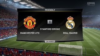 fifa 17 demo 60 fps pc gameplay manchester united vs real madrid