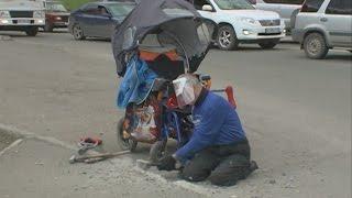 Доступная среда в Красноярске: путь инвалида-колясочника до больницы