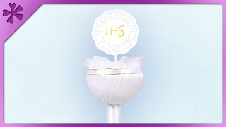 DIY Communion chalice and host (ENG Subtitles) - Speed up #210