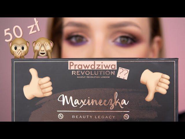 Paleta Cieni Maxineczki - Czy Otrzymali?my Prawdziwy Hit?! Pierwsze wra?enia i makija?.