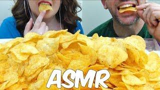 ASMR LAYS TACO CHIPS *INTENSE CRUNCHY EATING SOUNDS* (NO TALKING)