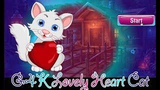 G4K Lovely Heart Cat Escape walkthrough Games4King.