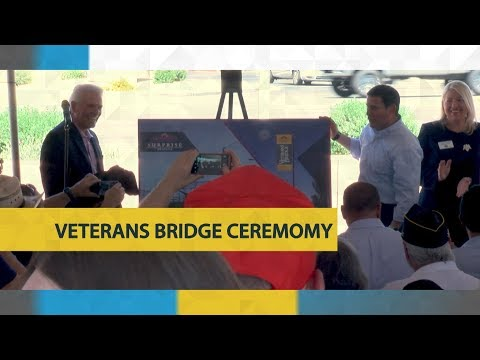 Veterans Bridge Ceremony video thumbnail