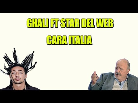 GHALI - Cara Italia Ft Star Del Web (Highlander Dj Parodia)