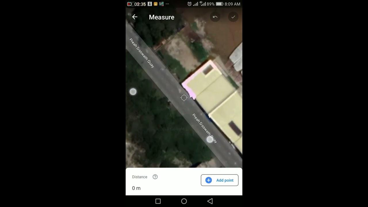 របៀបប្រើកម្មវិធីវាស់ផ្ទៃដីគិតជាការ៉េនិងម៉ែត់|How to measure distance lands in google Earth