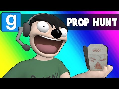 Gmod Prop Hunt Funny Moments - The Prop Sniffing Dog (Garry's Mod)