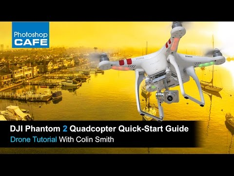 How to Fly a DJI Phantom quadcopter drone, getting started