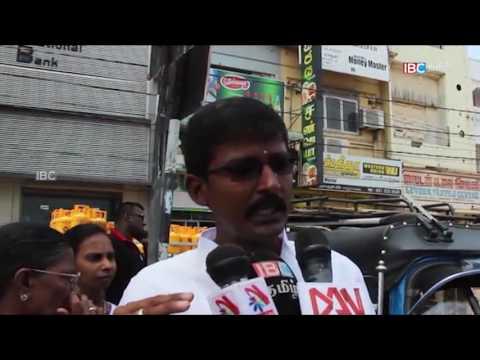 Protest jaffna  120916 8pm 1
