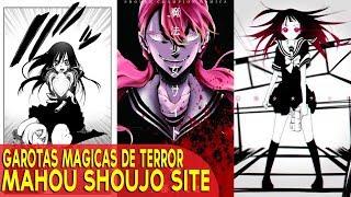 UM ANIME DE HORROR COM GAROTAS MAGICAS! - Mahou Shoujo Site