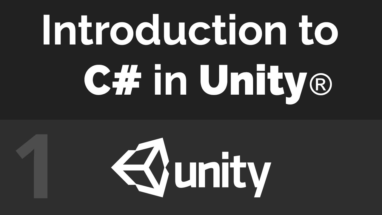 Unity C# Beginner Tutorial Series