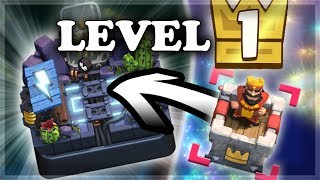 NEW Level 1 Clan & Unlocking Magic Archer | Clash Royale 🍊