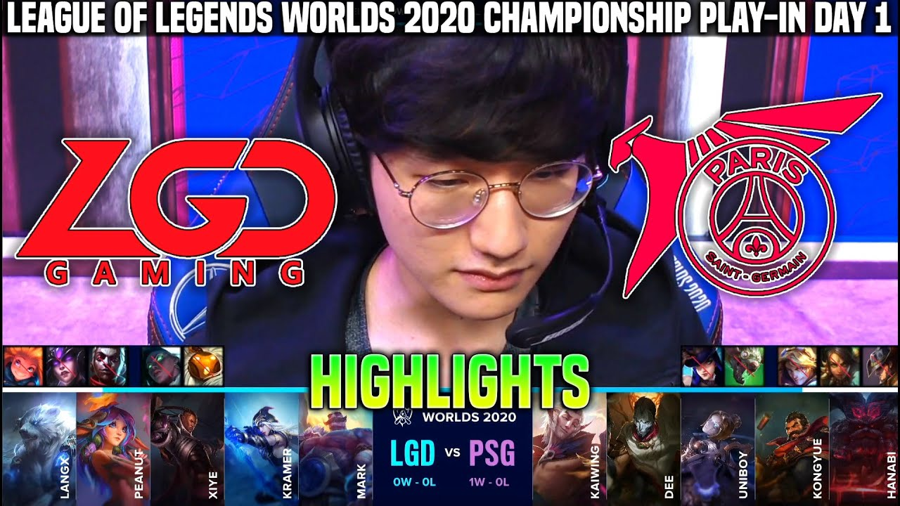 LGD vs PSG Highlights Worlds 2020 Play In Day 1 - LGD Gaming vs PSG Talon Highlights Worlds 2020