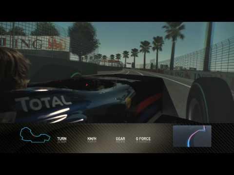 F1 Track Simulator - Sebastian Vettel At Melbourne