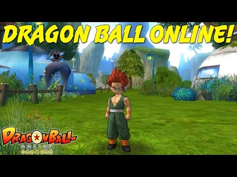 DRAGON BALL ONLINE | Character Creation & Gameplay!