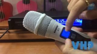 Hướng dẫn sử dụng micro không dây shure X3
