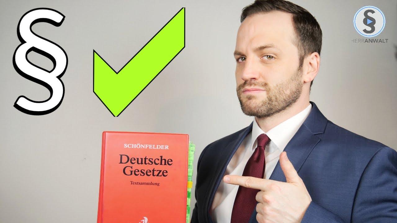 Jurastudium Gute Gründe - 8 Gründe warum du Jura studieren solltest | Herr Anwalt