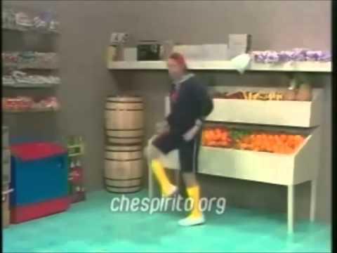 kiko dançando piripaque do chaves