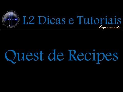 L2 Quest De Recipes Xx Weapons Interlude Xx