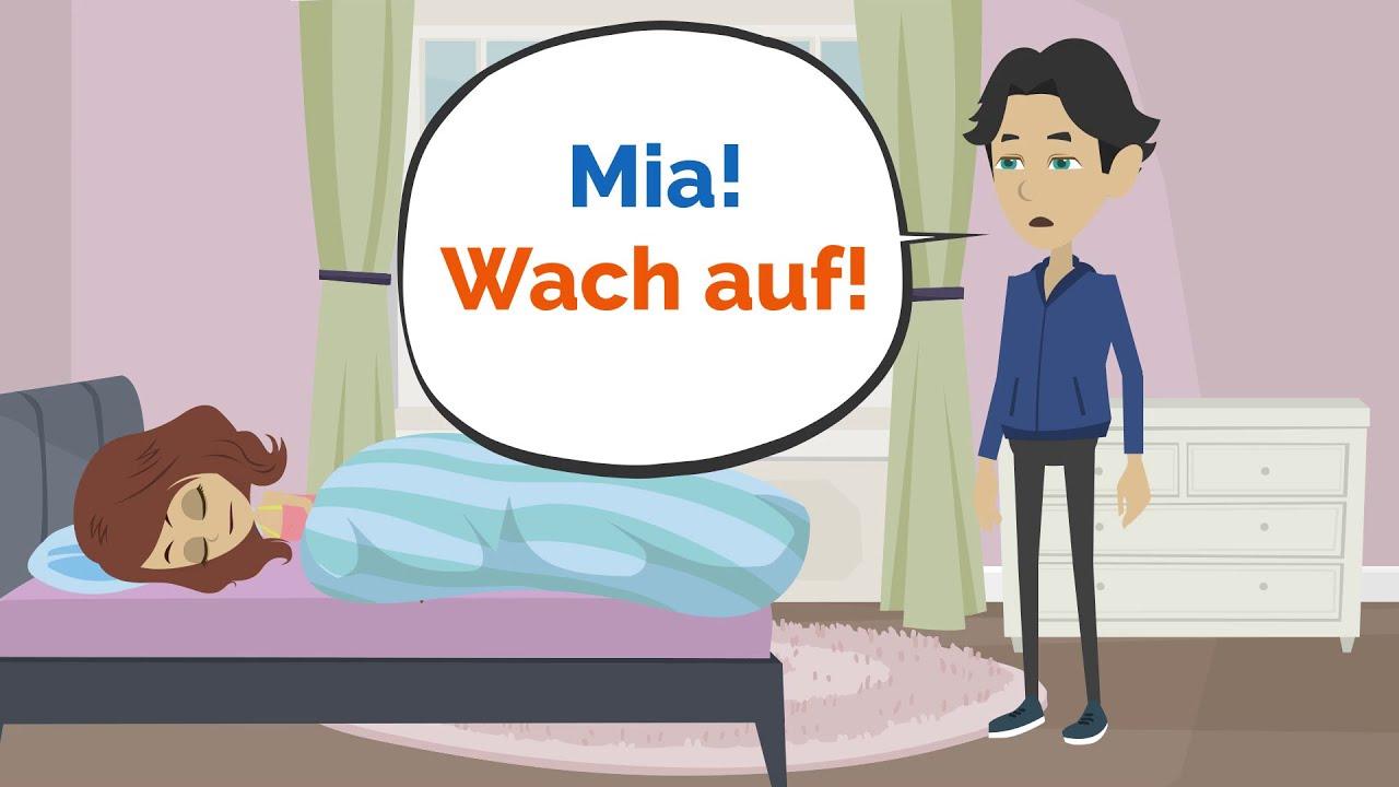 Download Deutsch lernen   Du kommst zu spät zur Schule!   Wortschatz und wichtige Verben