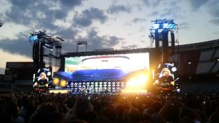 Bon Jovi Madrid 2013. Intro. That's What The Water Made Me