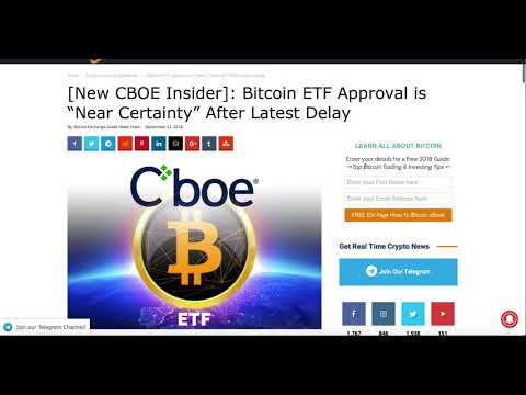 Bitcoin $4000 Ethereum $100 before 2019, CBOE Bitcoin ETF, EOS Hackathon London, Ripple Pump