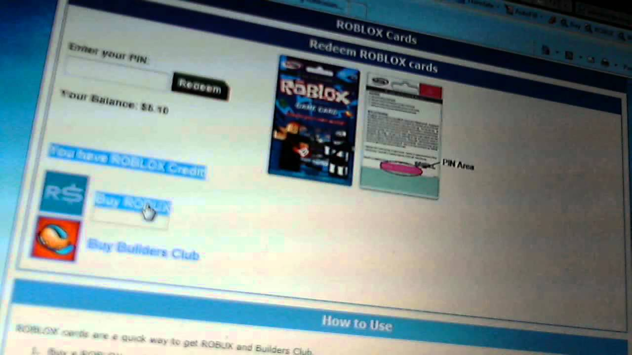 how to redeem a roblox 7-11 game card - YouTube