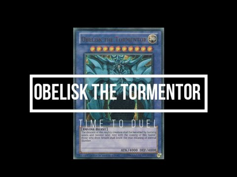 Obelisk The Tormentor - All Anime Summonings
