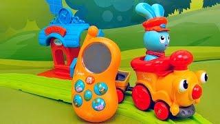 Кролик Банни и его Банифон   обзор интерактивного игрушечного телефона. Toy rabbit bunny