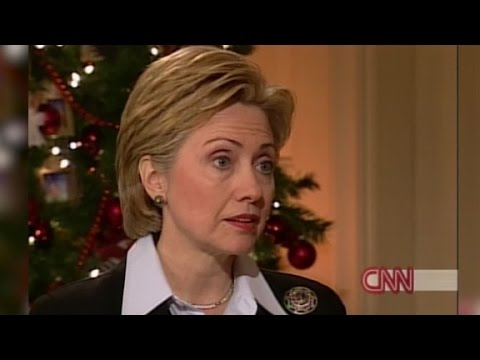 Hillary Clinton on becoming a senator (2000 Interview)