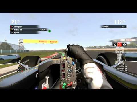 Wyścig GP Chin  (Shanghai) 18.04.2012