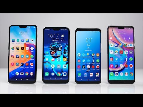 OnePlus 6 vs. Honor 10 vs. Samsung Galaxy S9 vs. Huawei P20 Pro: Benchmark | SwagTab