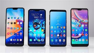 OnePlus 6 vs. Honor 10 vs. Samsung Galaxy S9 vs. Huawei P20 Pro: Benchmark | SwagTab