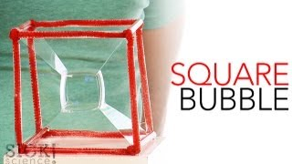 Square Bubble - Sick Science! #149