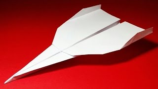 How to make a Paper Airplane that Flies Far - Easy Origami for Beginners | Grey