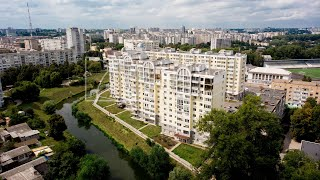 200 kv hashamatli penthouse. m. Peremohy Ave ta'mirlash. 119A,Markazi,yangi Binosi