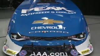 John Force unveils brand NEW Chevrolet Funny Car body NHRA