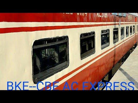 #22475 Bikaner Coimbatore AC Express Short Journey Compilation