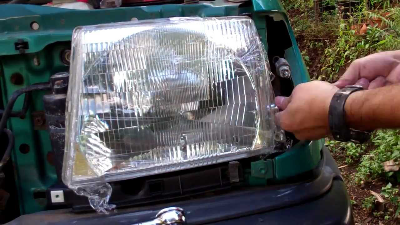 Tacoma Headlight Change Complete Step By