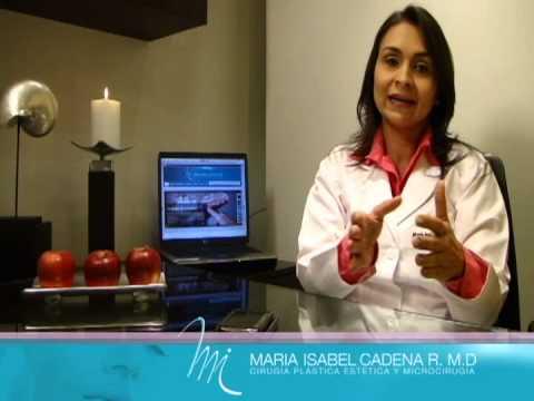 Presentación Doctora Maria Isabel Cadena Cirujana Plástica y Estética Cali