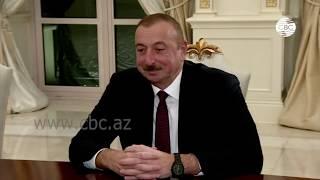 Смотреть видео Президент Азербайджана: Москва и Баку значительно продвинулись по многим направлениям онлайн