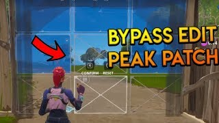 Fortnite: BYPASS EDIT PEAK PATCH (See Through Walls) *After Patch* (FORTNITE BATTLE ROYALE)