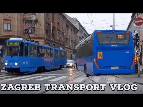 Zagreb Transport VLOG
