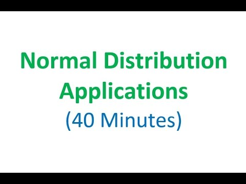 Normal Distribution Applications