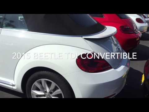 2015 VW Beetle TDI Convertible for Melissa