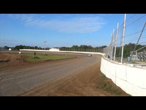 Mandy Chick USRA B Mod Test at Humboldt Speedway