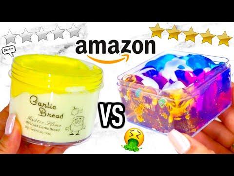 0 STAR vs 5 STAR Amazon Slime Review!