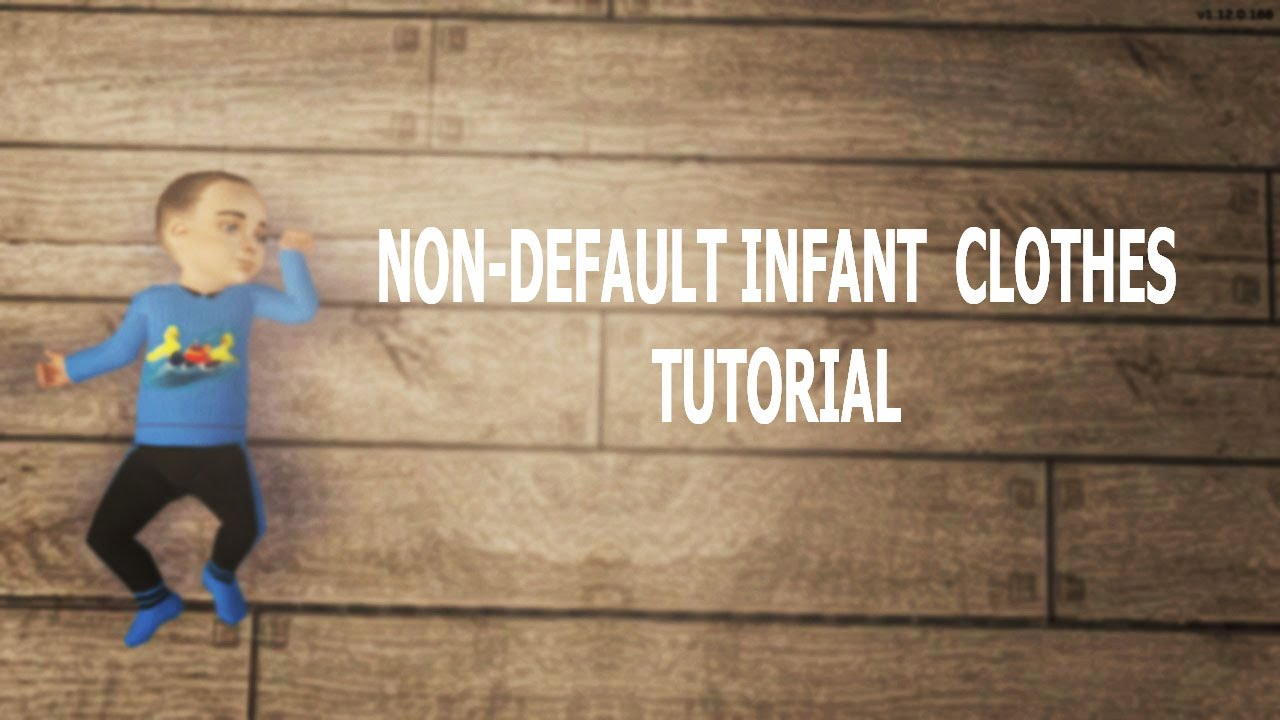 Sims 2 Custom Baby Clothes Tutorial Youtube